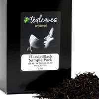 Black Tea Sample Pack - Loose Leaf Tea
