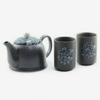 Tea Set Blue Botan