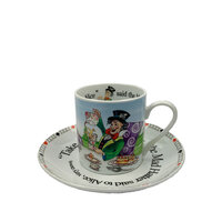 Alice In Wonderland Cup & Saucer