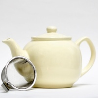Shamila Teapot with infuser - Cream