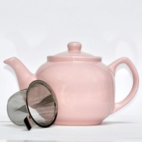 Shamila Teapot with infuser - Soft Rose