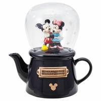 Mickey & Minnie Snow Dome Teapot
