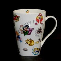 Alice In Wonderland Mug Alice and Friends
