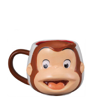 Curious George Face Mug
