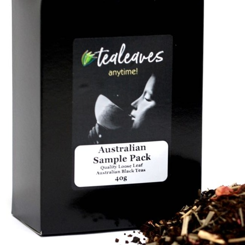 4 Australia Black Tea Samples [Australian Sample Pack]