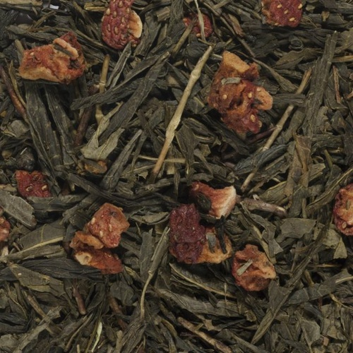 Sencha Strawberry Cream 100g bag
