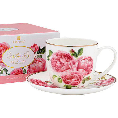 Ashdene Heritage Rose Collection Cup & Saucer
